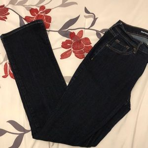 Old navy curvy mid rise boot cut